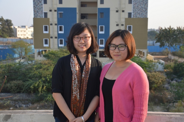 Kitty – Liu Liuxiaohua ir Diana – Li Junyan (K. Barecko nuotr.)