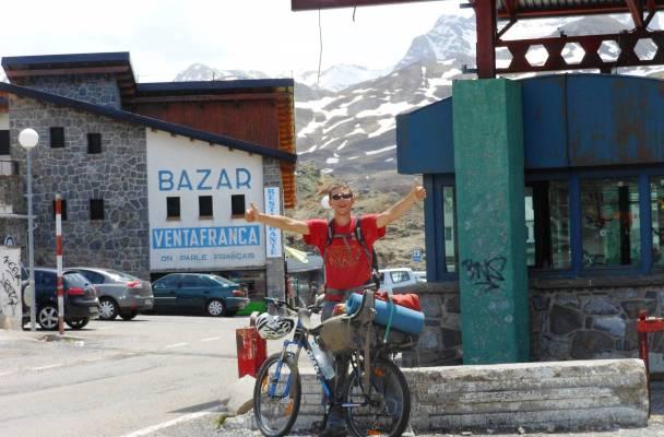 Nathanas sau metė dar didesnį iššūkį – apkeliauti Europą dviračiu, nuotr. iš asmeninio albumo