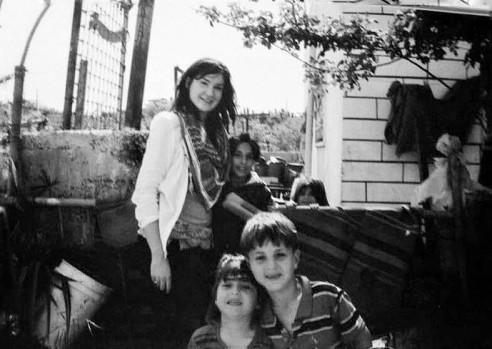 Jenny Boylan Al Aroub pabėgėlių stovykloje, nuotr. iš asm. archyvo