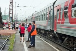 Kelionė Transsibiro traukiniu, nuotr. iš asm. albumo