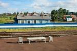 Vaizdas pro Transsibiro traukinio langą, nuotr. iš asm. albumo