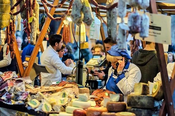 Kalėdinis turgus Italijoje, Michaelos Roupovos nuotr.