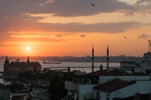 Vaizdas į Stambulą nuo stogo Kadikoy rajone, Ūlos Jasiulevičiūtės nuotr.