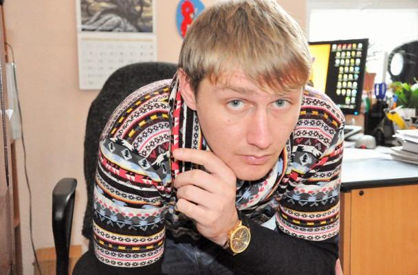 Ukrainietis Maksymas Onyshchenko, nuotr. iš asm. albumo