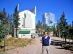 Vytautas Čepas observatorijoje Arizonoje, nuotr. iš asm. archyvo
