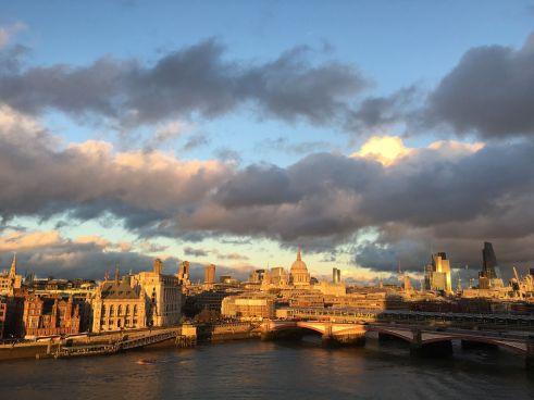 Londono panorama. Nuotr. iš asmeninio archyvo