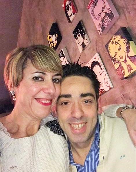 Luca su drauge Annalisa, nuotr. iš asm. albumo