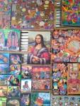 Mona Liza gvatemalietiškais drabužiais, nuotr. iš asm. albumo