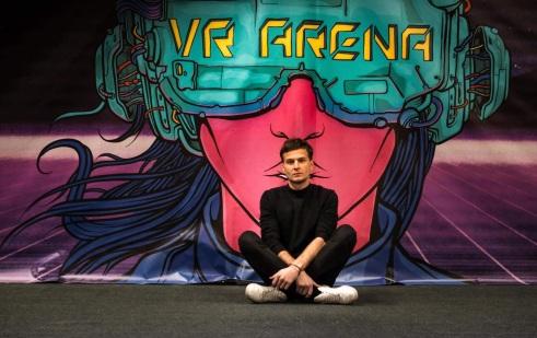 Domas Sabockis teigė, kad karantino metu suprato, kad virtualios realybės arena gali būti išnaudota edukaciniams projektams